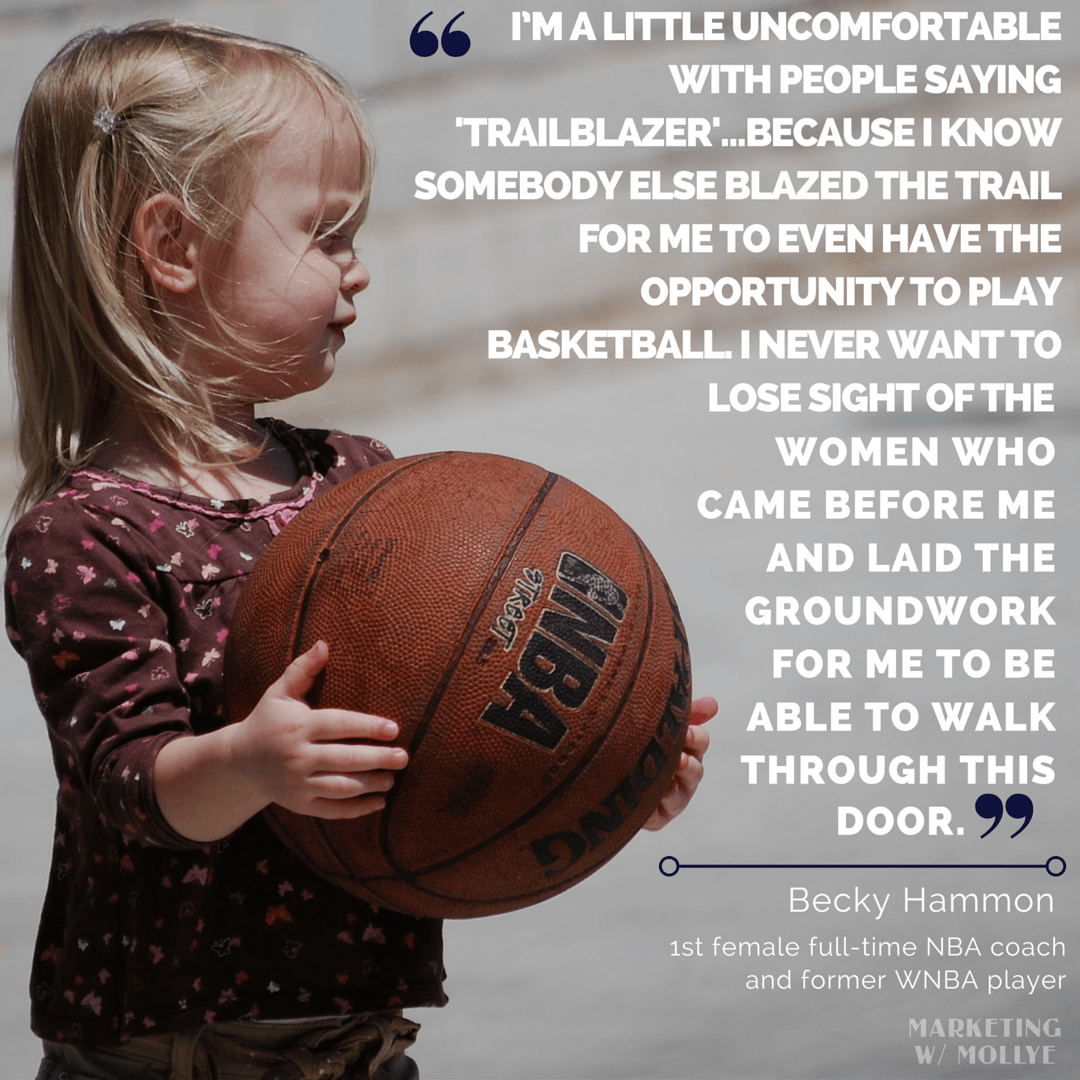 10 Inspirational Quotes from Women in Sports | Mollye B Peters