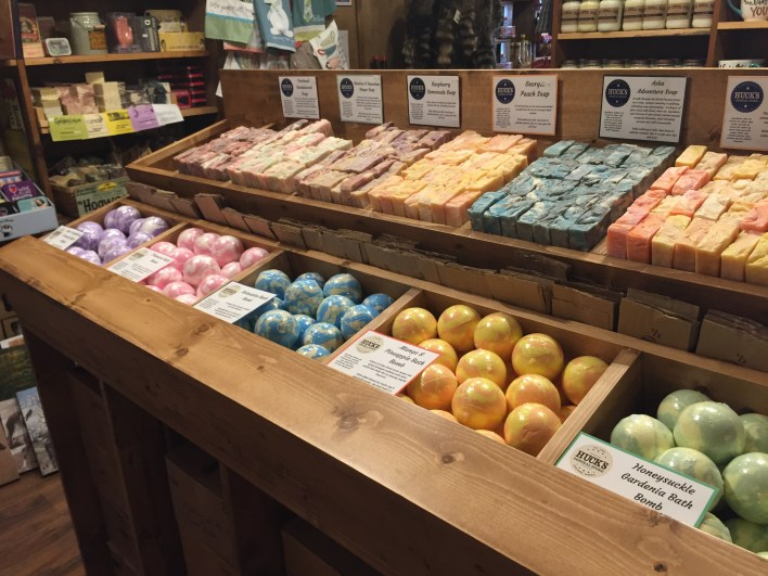 Artisan Soaps & Bath Bombs at one of my wholesale accounts