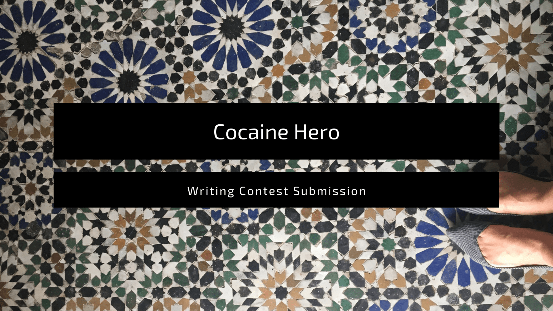 """Featured image for the blog post, """"Cocaine Hero"""""""