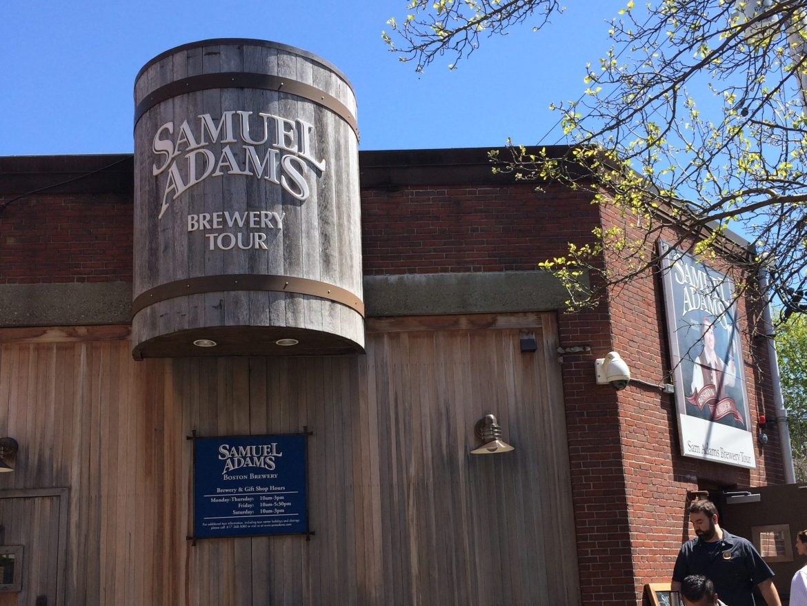 sam adam brewery