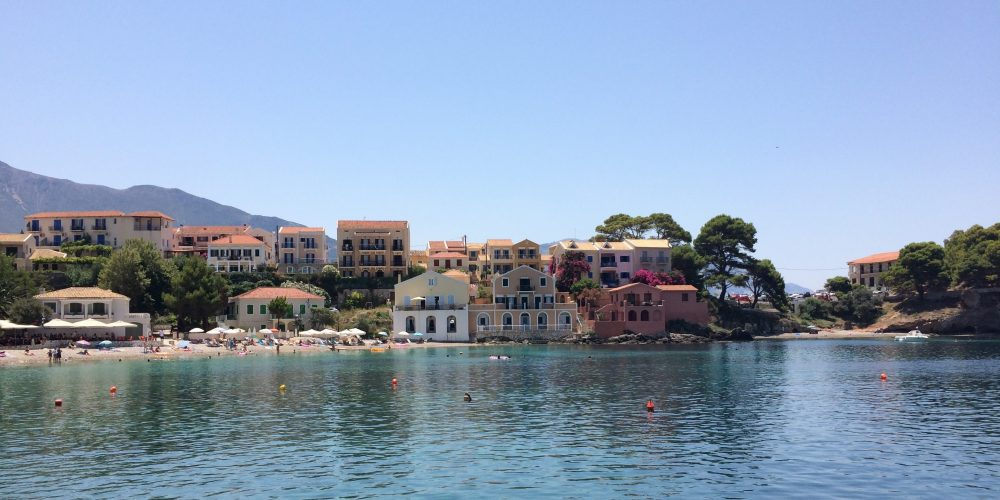 Asos on the Ionian Island of Kefalonia