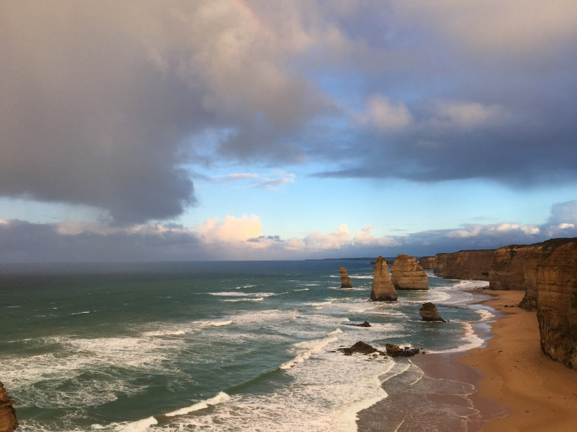 sunrise at 12 Apostles