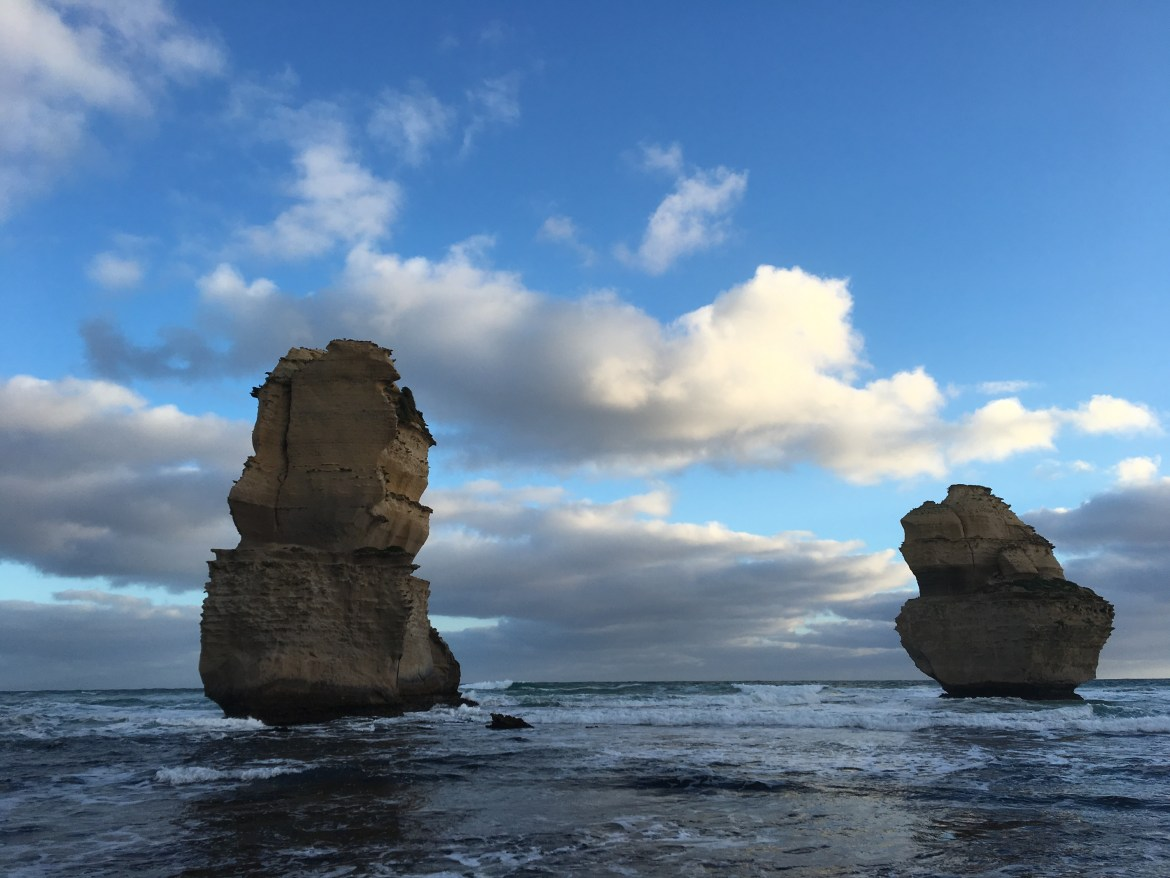 12 Apostles from gibson steps