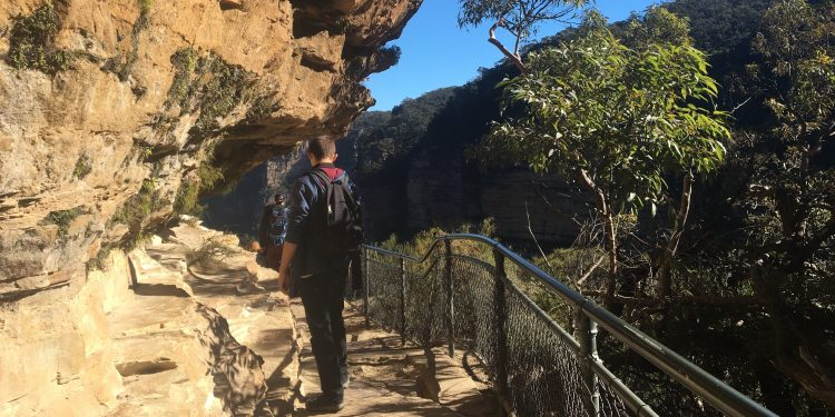 national pass in the blue mountains