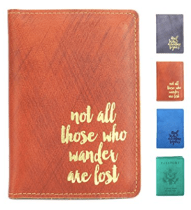 SanSiDo Leather Passport Cover an Travel Wallet