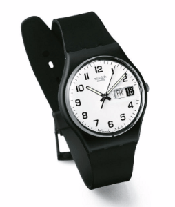 Swatch watch is a great travel gift