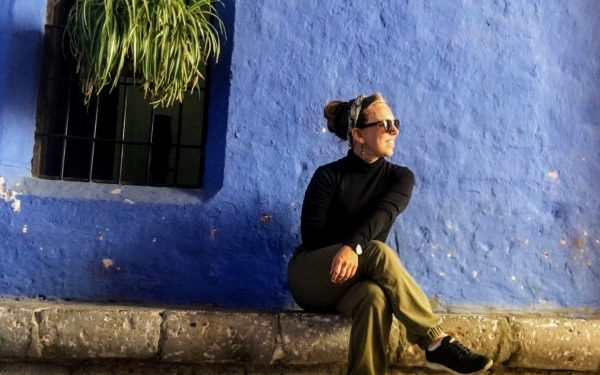 hanging out in santa catalana in arequipa peru
