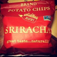 Discovering Sriracha chips