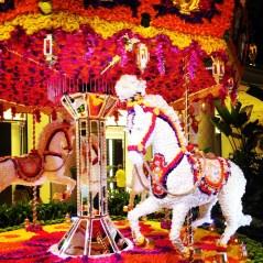 Wynn carousel of flowers