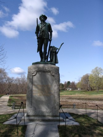 Minuteman monument, Concord MA