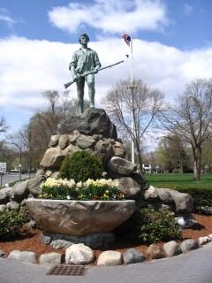 Minuteman Monument (Capt. Parker), Lexington MA