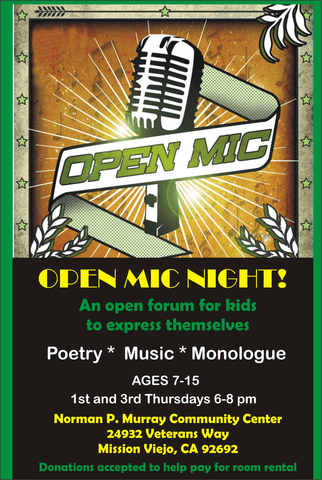 Open Mic For Kids!