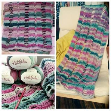 "G+ Crochet Along Community : ""Braided & Broken Wrap"" by Cre8tion Crochet"