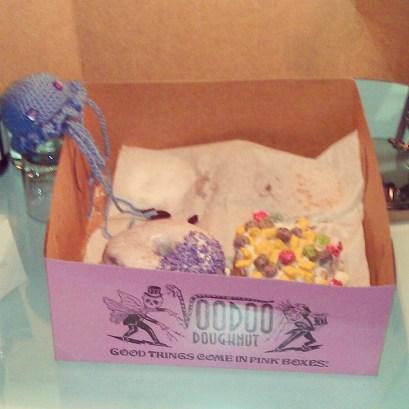 First stop: Voodoo Doughnuts in Portland!