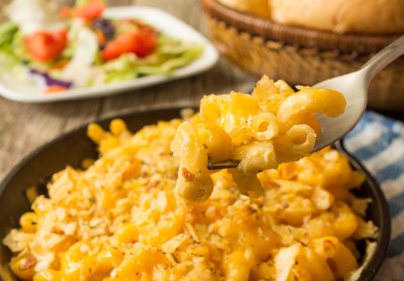 "Mac & ""Cheese"" – a household favorite!"