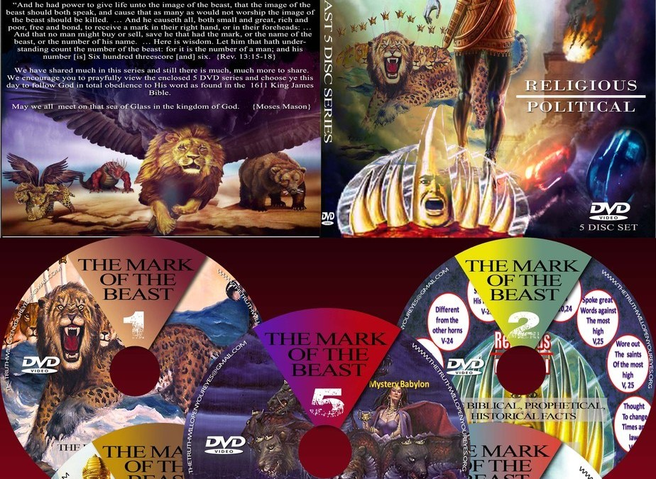 The Mark of the Beast (5-disc DVD series) | Presented by Elder Moses Mason