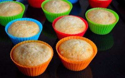 Jam filled muffins!