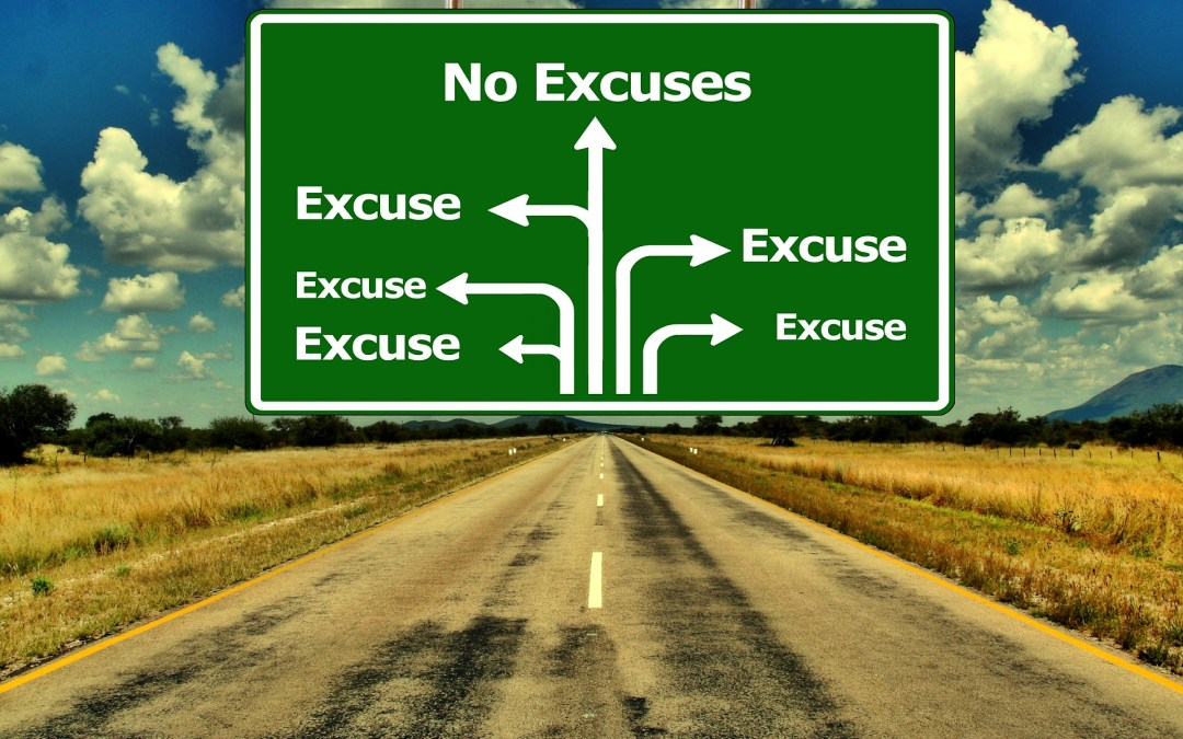 Inspired Quote of the Day: No Excuse