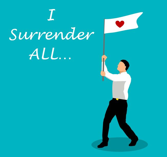 Inspired Quote of the Day: This Point of Surrender