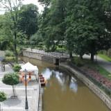 Клодзко вид на канал с моста Иоанна