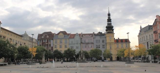 Площадь Масарик в Остраве