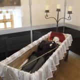 Скелет в Остравском замке