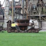 Vitkovice чугуновоз на территории завода