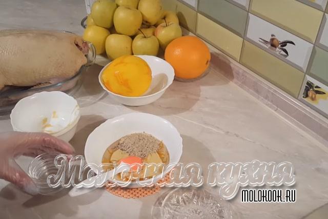 Matlagning Marinada