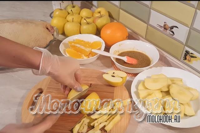 Äppelskärning