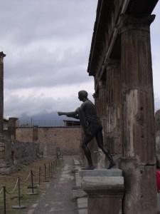 Pompeii - copy of the original now in Napoli