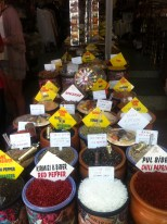 I took many a photo of spice stores on this trip