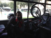 And then a bus ride to Peschiera del Garda. Italians showed their early value by convincing the bus driver after 10 minutes to take our bikes on board.