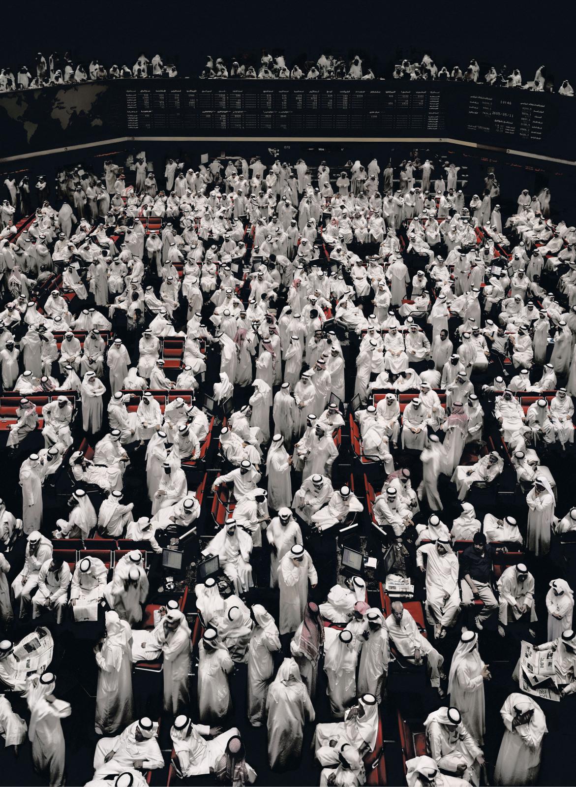 (安德列亚斯·古斯基《科威特证券交易所(Kuwait Stock Exchange)》,2000)