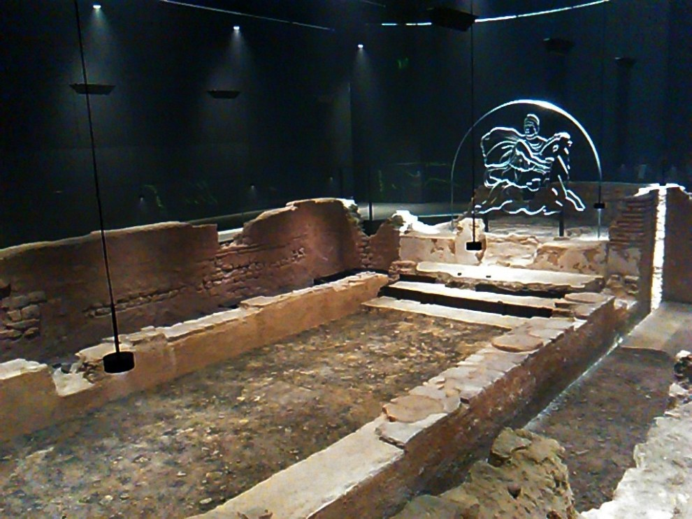 London Mithraeum at the Bloomberg Space.
