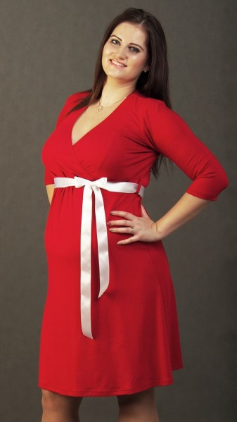 Maternity Nursing Swing Dress