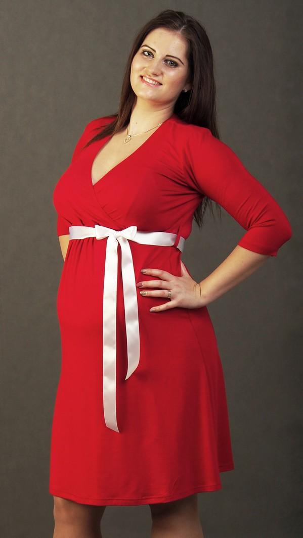 Maternity Nursing Swing Dress