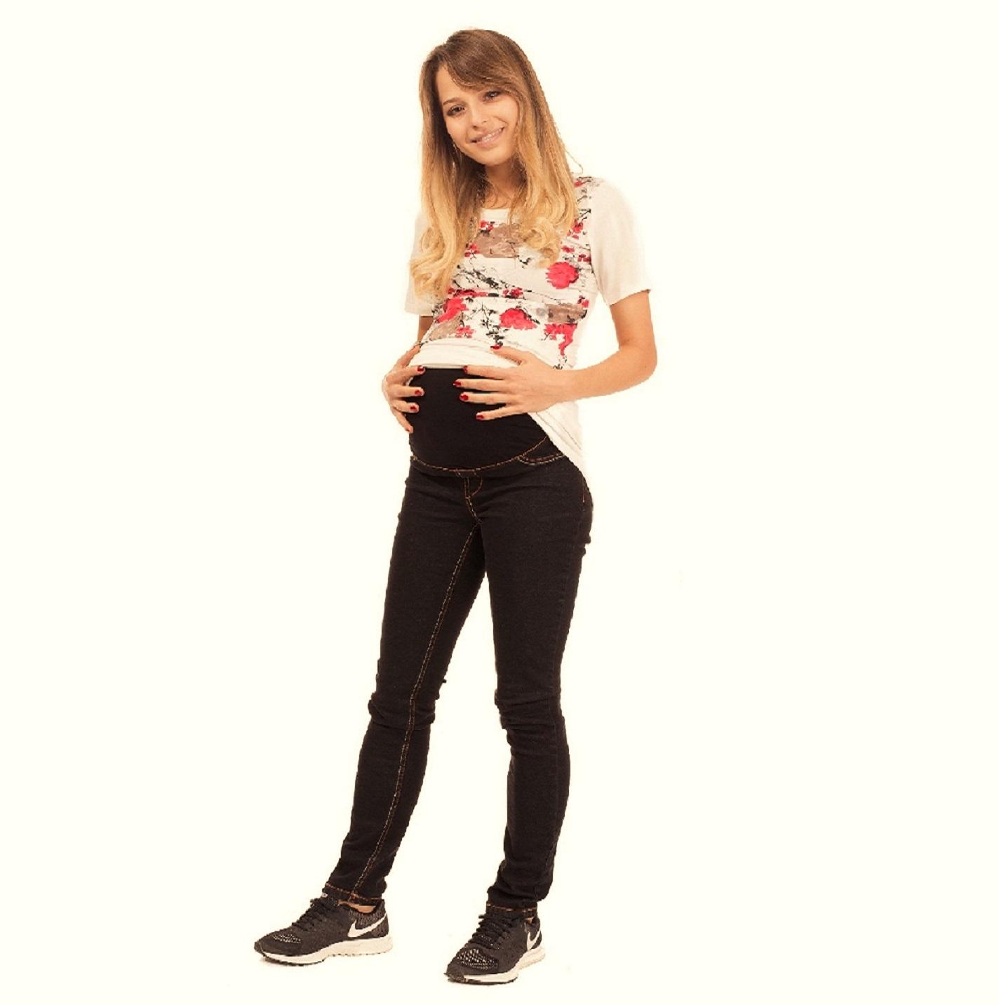 Skinny Leg Maternity Jeans