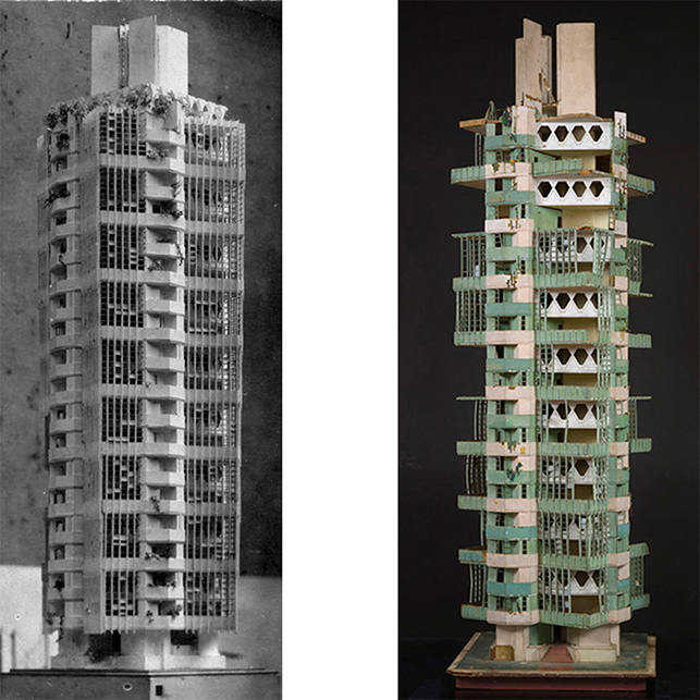 Link: Rising from Ruin: Conserving Frank Lloyd Wright's St. Mark's Tower Model