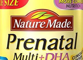 Nature made Prenatal Multivitamin