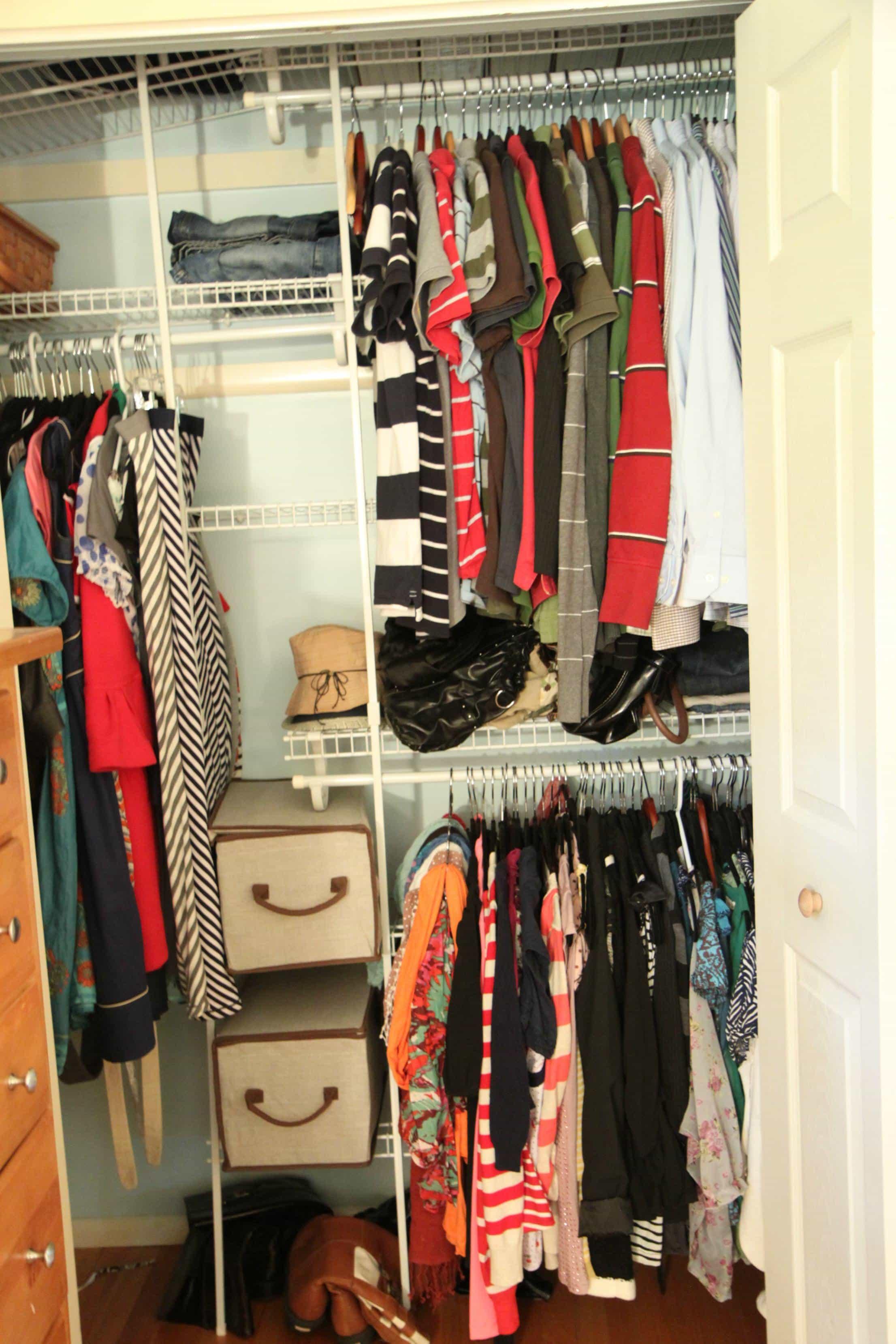 Small How Closet Organize