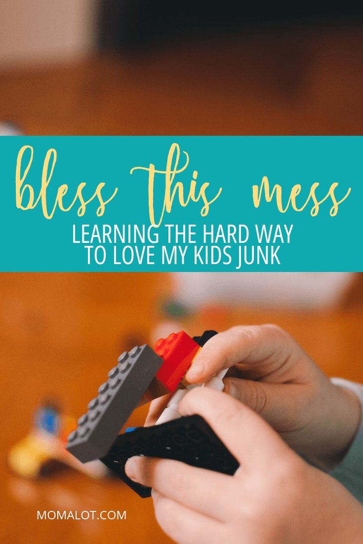 Bless this Mess - Learning the Hard Way to Love My Kids\' Messes