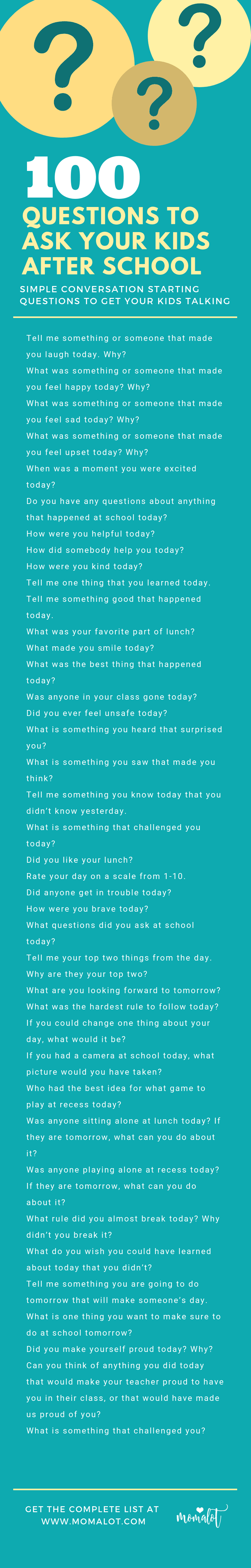 100 questions to know someone