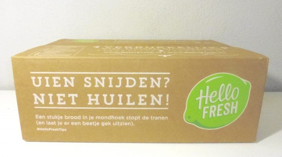 HelloFresh Family Box