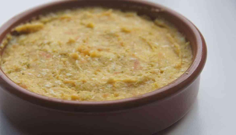 Zoete aardappel met kip peuter-eettips