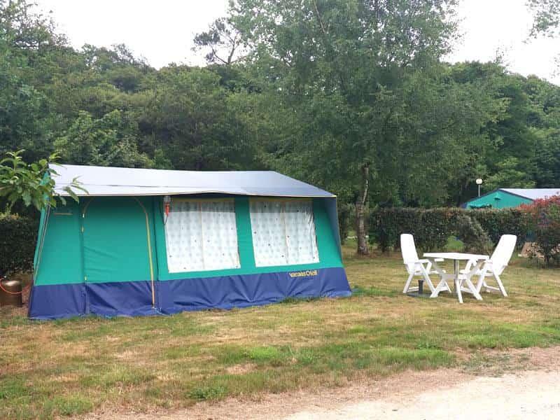 eerste tentvakantie camping le ty nadan vacan soleil