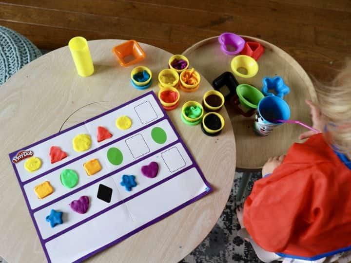 Play-Doh Spelen & Leren : Kleuren & Vormen