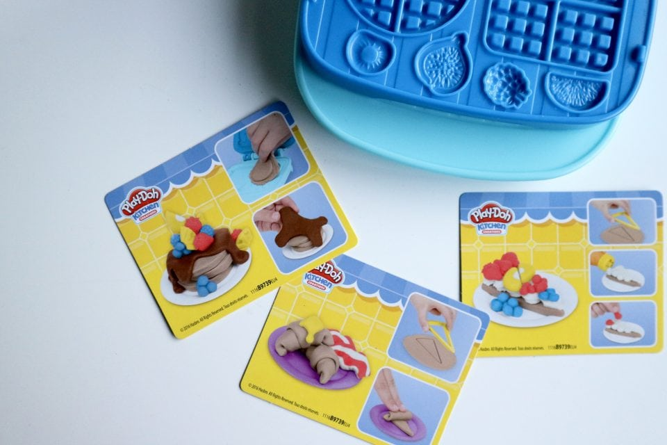 Play-doh Ontbijtset klei review
