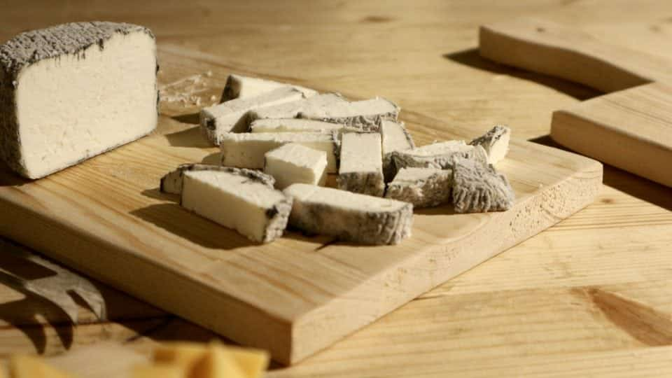 Kaaskop Groningen Westerkwartier kaas, chocola noten