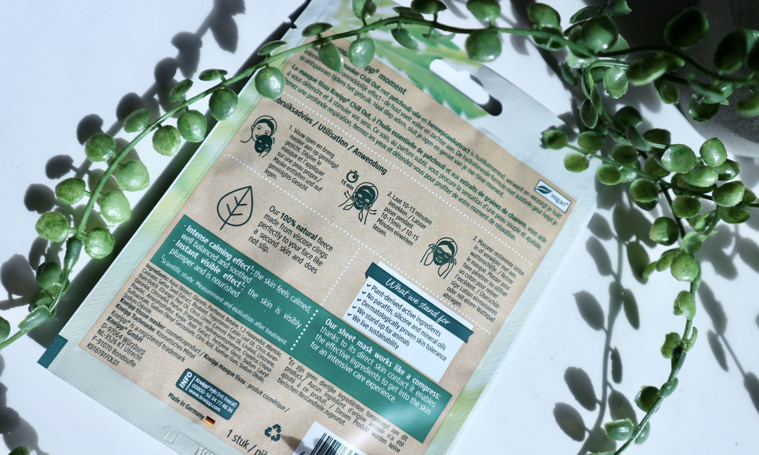 Kneipp Sheet Masks Review kneipp chill out