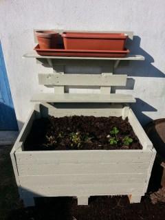 jardinière en palette 2